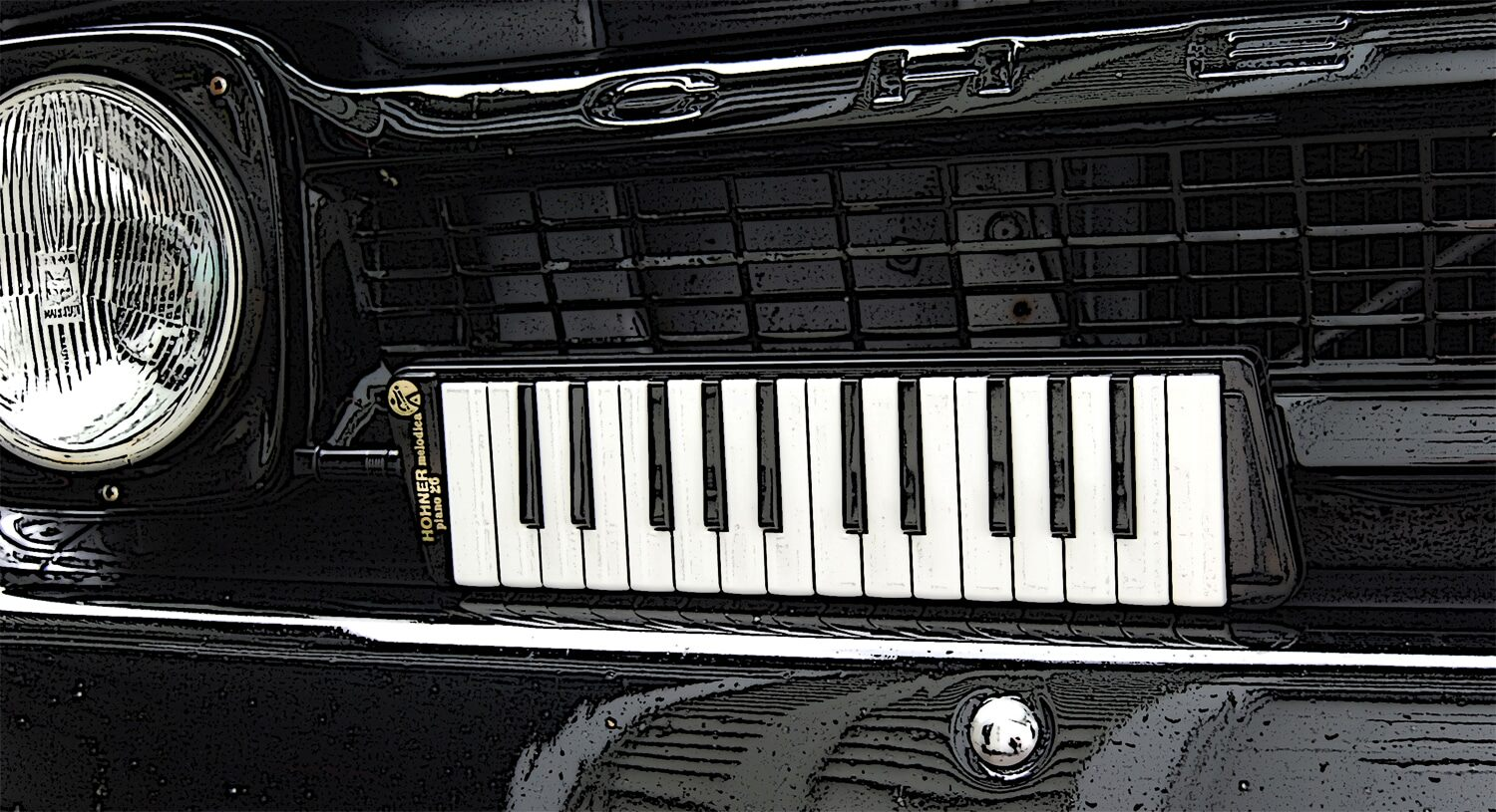 Melodica in the grill